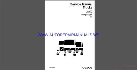 volvo trucks fl wiring diagram service manual auto