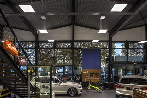 © © all rights reserved. Selux US — BMW Car Showroom Ehrl