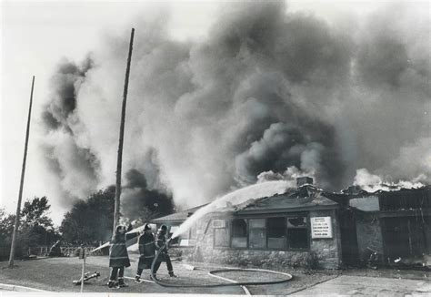 Firehoses Battle Vainly Against The Blaze Sweeping The Tam