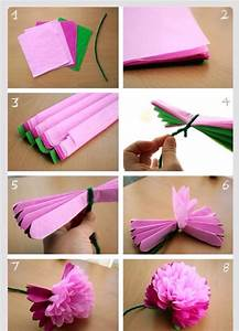 DIY: Tissue Paper Peony Flower - Musely