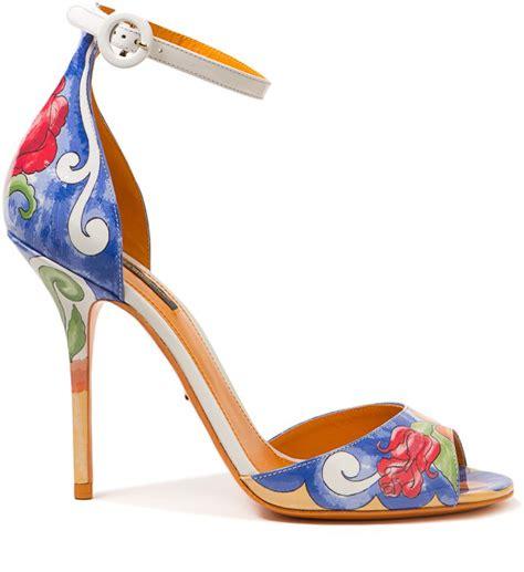 Dolce and Gabbana Hand Painted Heel Picmia