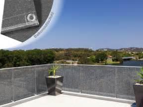 sichtschutz balkon stoff sichtschutz balkon stoff grau innenräume und möbel ideen