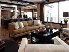 living rooms using earth tones rumah minimalis