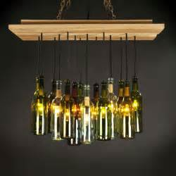 1000 ideas about bottle chandelier on wine
