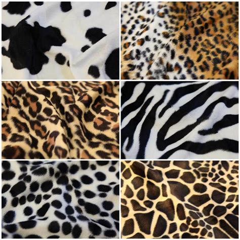 Animal Print Fabric For Upholstery by Animal Print Polyester Velboa Valboa Faux Fur Velour Dress
