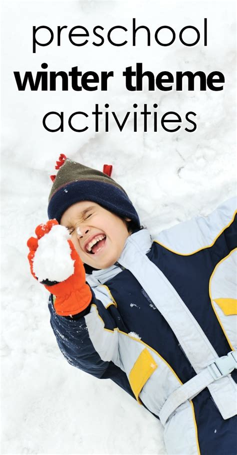 preschool winter theme activities fantastic amp learning 780 | preschool winter theme pin
