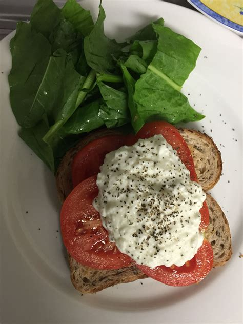 Non Cottage Cheese Nutrition Meal 1 Non Day Cottage Cheese Toms Sorrel