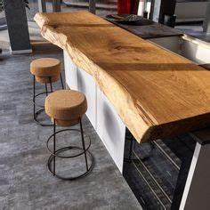 Kuchentresen bartresen kuche kuchenblock for Holzbrett küche