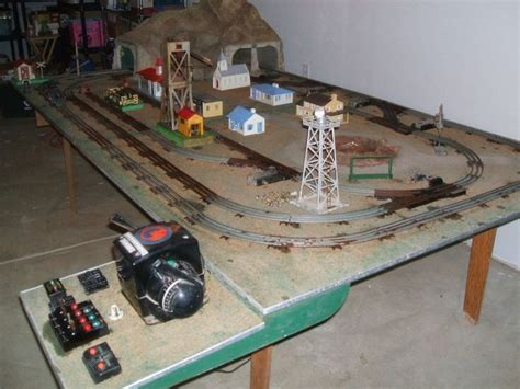 e s trains and hobby lionel hobby dealer display track layout vintage no