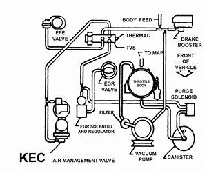 I Need A Vacuum Line Diagram For A 1996 Cadllac Deville