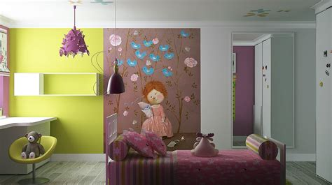 Girls Room Paint Ideas Colorful Stripes Or A Beautiful