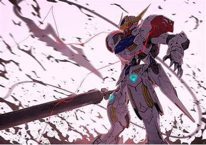 Gundam Barbatos Mobile Orphans Blooded Iron Suit
