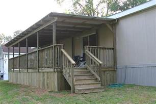 Mobile Home Deck Ideas Pictures by Home Ideas 187 Mobile Home Porch Plans