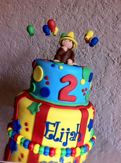 curious george birthday cake curious george birthday cake with balloons and the yellow