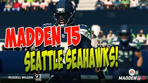 madden  seattle seahawks   rating nfc west