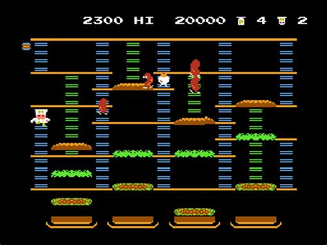 Burgertime Download Game Gamefabrique