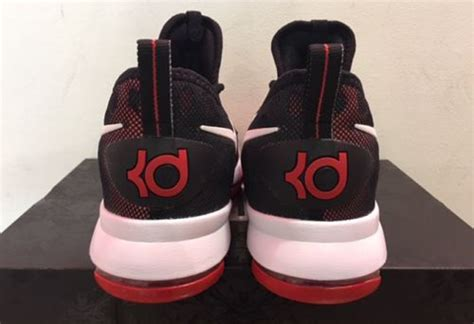 White Black University Red Nike KD 9