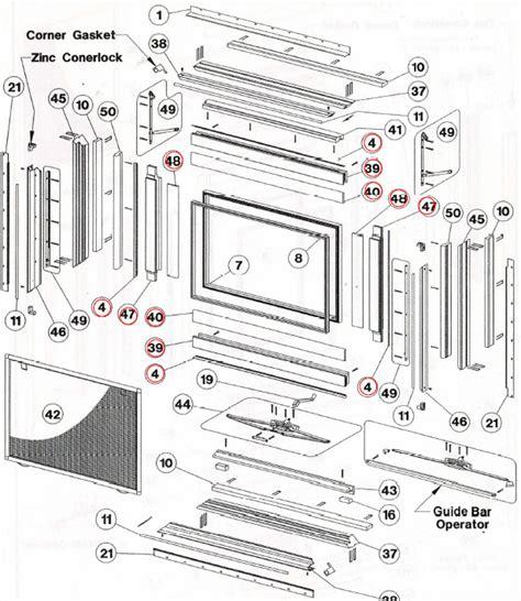 caradco window weather strip seals  styles biltbest window parts