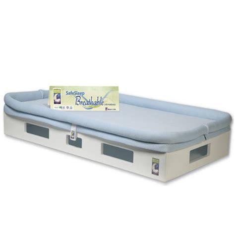 breathable baby mattress secure beginnings safesleep breathable crib mattress base