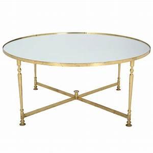 coffee tables ideas wonderful round brass tray coffee With white and brass coffee table