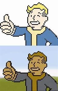 minecraft fallout pixel art templates minecraft pixel With how to make minecraft pixel art templates
