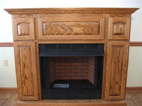 Gas Log Fireplace Mantels