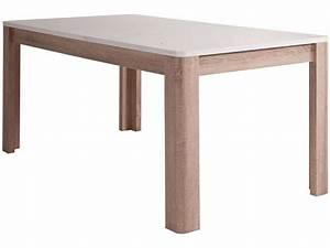 Petite Table Avec Rallonge : table bois blanc avec rallonge table pour petite cuisine objets decoration maison ~ Teatrodelosmanantiales.com Idées de Décoration