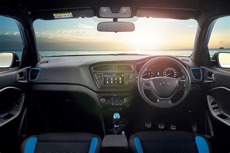 hyundai  active interior alps blue autobics