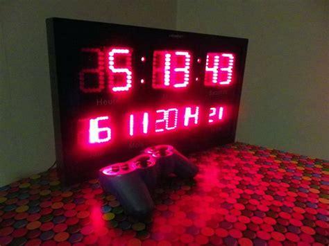 horloge murale a led 28 best horloge et montre images on