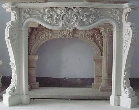 ornate mantle   marble fireplaces marble
