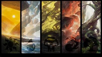 Land Zendikar Wallpapers Mtg Lands Artwork Creativity
