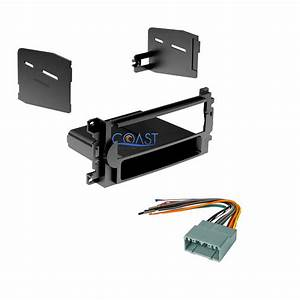 Single Din Car Radio Stereo Dash Kit Harness For 2004
