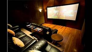 Small Home theater room ideas - YouTube
