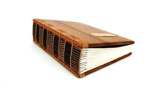 hand  large mahogany photo album scrapbook handmade wood book heirloom memory book