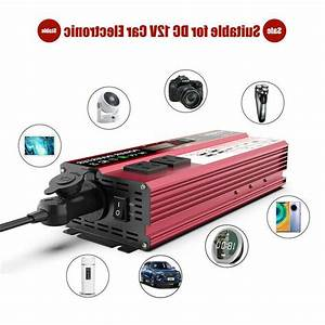 Solar Car Power Inverter 4000w Peak Dc 12v