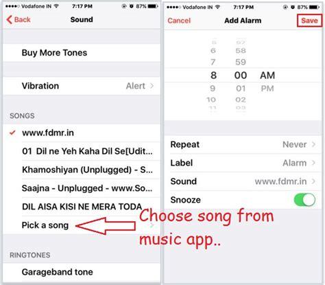 change alarm sound iphone how to change alarm sound on iphone ios 11 ios 9 ios 8