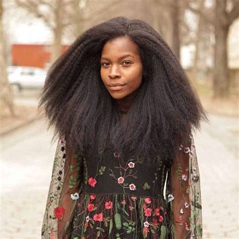 afro textured hair extensions images