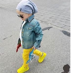 Shoes sneakers jeans denim jacket kids fashion toddler fashion yellow neon adidas ...