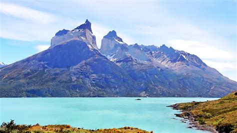 torres del paine national park chile natural scenery