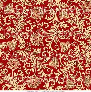 Red and Gold Wallpaper - WallpaperSafari