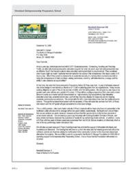 sample letter  inquiry nonprofits