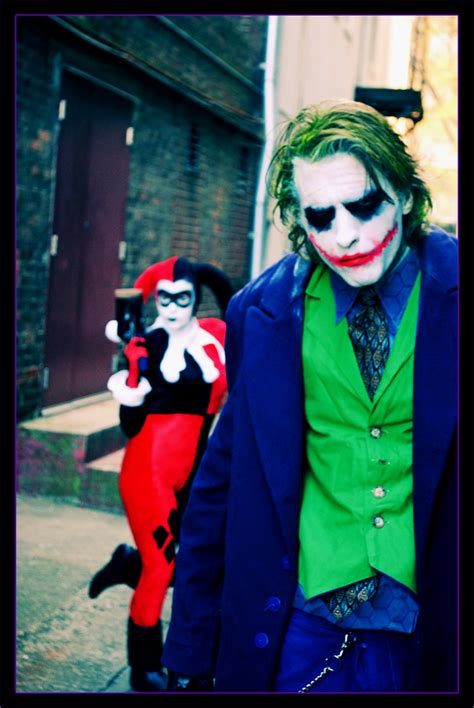 Beautifuldisastersbycelticruins Joker And Harley Quinn