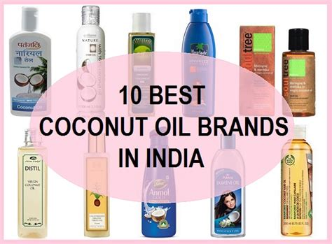 10 Top Best Pure Coconut Oil For Hair And Skin In India