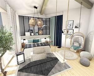 Déco Bord De Mer Chic : une belle chambre l 39 esprit bord de mer chic ~ Melissatoandfro.com Idées de Décoration