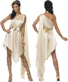 grecian headband women fever goddess toga fancy dress costume