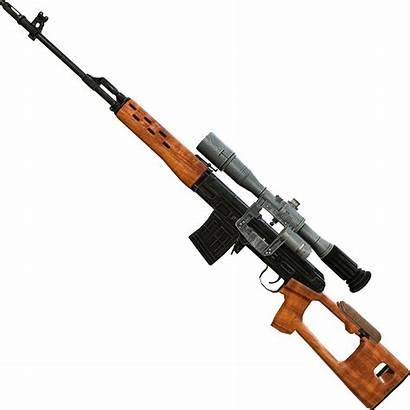 Sniper Rifle Dragunov Svd Transparent Clipart Gun