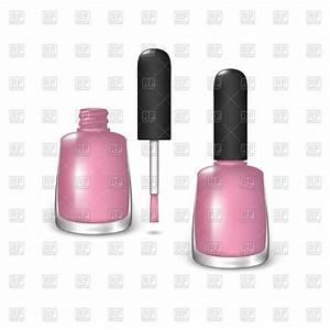 Pink nail polish Royalty Free Vector Clip Art Image ...