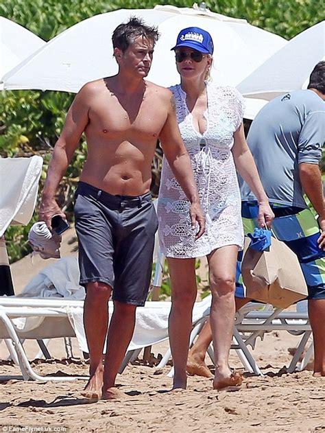 georges méliès age shirtless rob lowe and his bikini clad wife sheryl berkoff