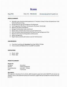 20 Qa Tester Resume With 5 Years Experience In 2020