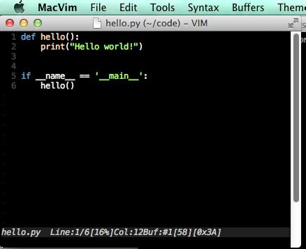 iterm2 color schemes macvim vim color scheme in iterm2 are not the same
